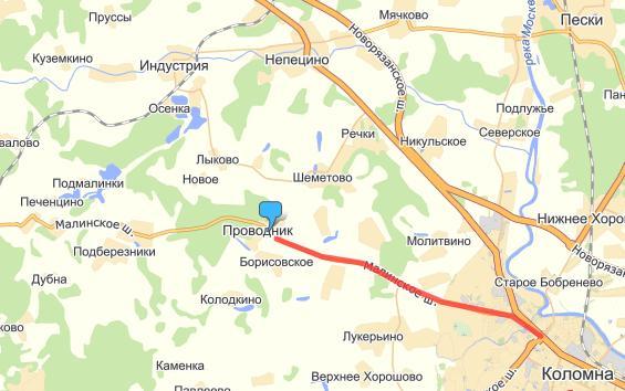 Как проехать из Москвы