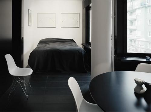Черный цвет в дизайне приобретает популярность