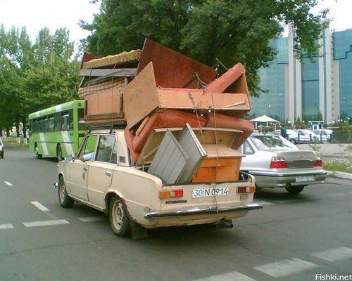 Правильно организованный переезд не равен пожару