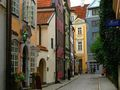Поедем искать свободу на узких улочках Риги