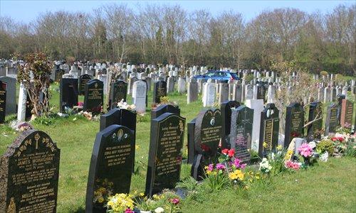 В Британии кризис с местами на кладбищах