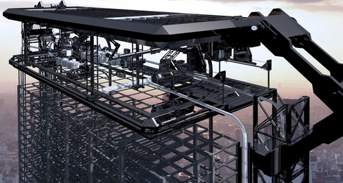 3D-принтер стал печатать небоскребы